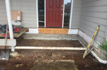 Tracy - Front Porch - Trailside Construction
